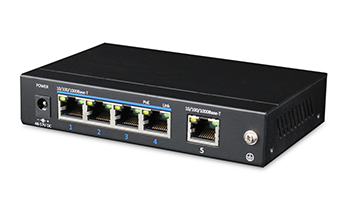 5 Ports Gigabit PoE Switch