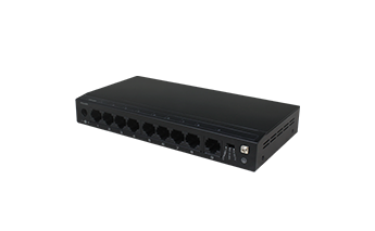 9 Ports 10/100Mbps Unmanaged PoE Switch