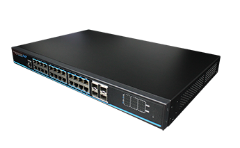 24 Gigabit PoE Ports Managed Ethernet Switch